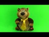 Поющие и танцующие мягкие игрушки (советские мягкие игрушки, поющие песни на русском языке и танцующие под музыку) 1